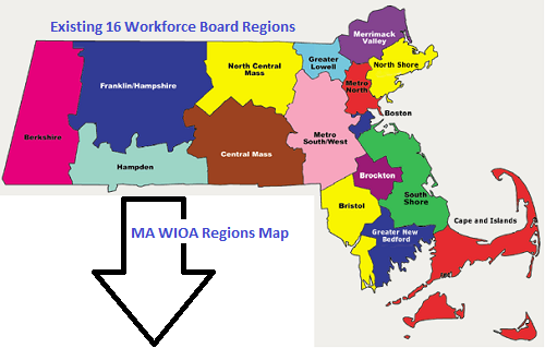 16 Regions of the MassHire Franklin Hampshire Workforce Board